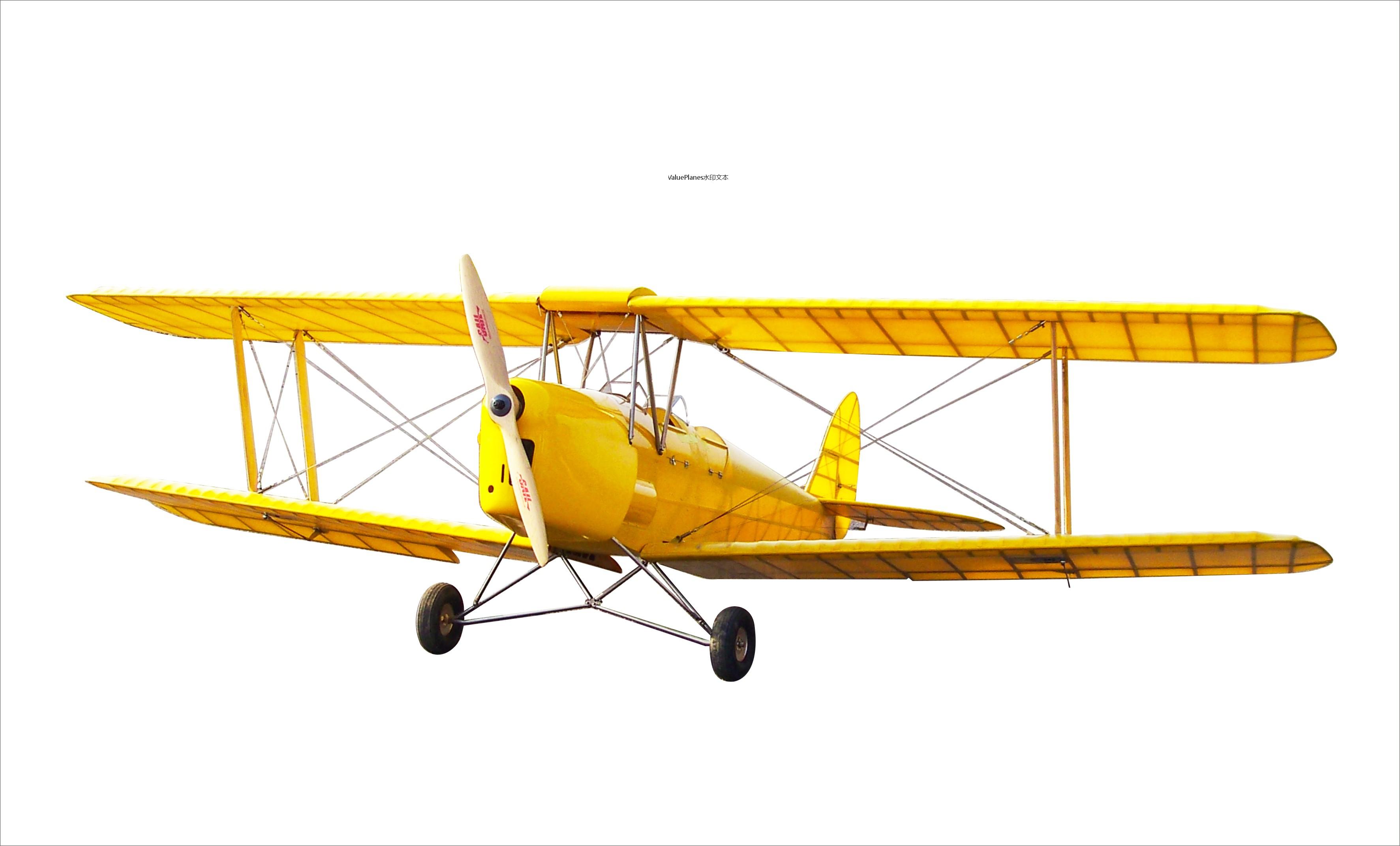 1:3.8 De Haviland DH82a Tiger Moth